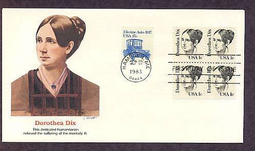 Honoring Dorothea Dix, Dedicated Humanitarian, Relieved the Suffering of the Mentally Ill