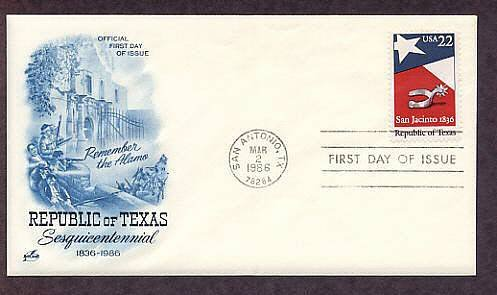 Republic of Texas, Silver Spur, Alamo, San Antonio, First Issue USA