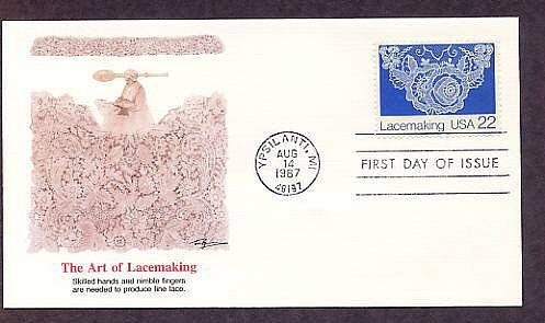 Recognizing Lacemaking First Issue USA