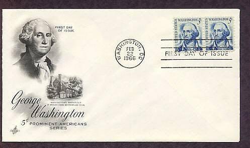 President George Washington, First Issue USA