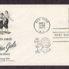 Camp Fire Girls Golden Jubilee First Issue 1960 FDC USA