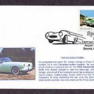 1954 Kaiser Darrin, First Issue, Detroit, Michigan USA FDC