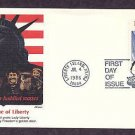 100th Anniversary Statue of Liberty, Liberty Island, New York First Issue USA