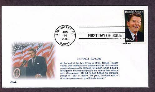 President Ronald Reagan First Issue USA