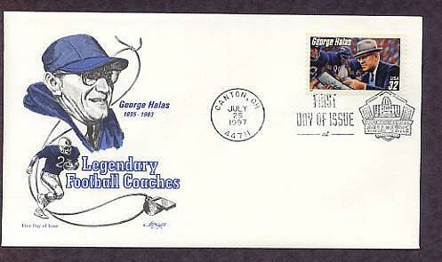 George Halas, Longtime Leader of the NFL's Chicago Bears First Issue USA