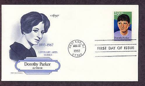 Honoring Author Dorothy Parker, First Issue USA