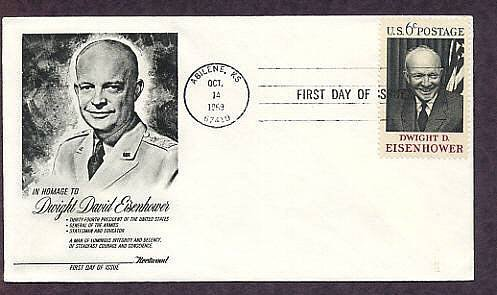 IKE, President Dwight David Eisenhower WWII 5 Star General First Issue USA