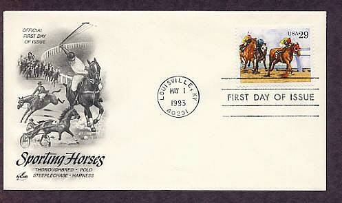 Thoroughbred Horse Racing, Sporting Horses First Issue USA