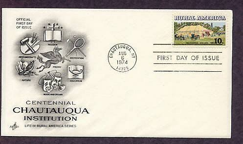 Rural America, Centennial Chautauqua Institution, First Issue USA