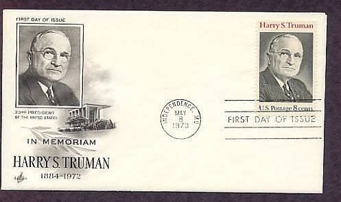 In Memoriam Harry S. Truman, 33rd President of the United States, First Issue AC USA