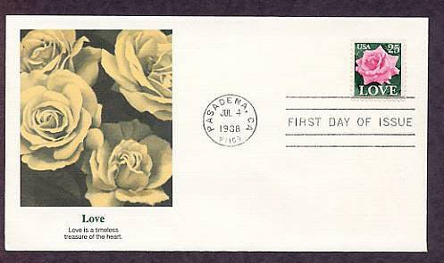 United States 1988 Love Postage Stamp, First Issue USA