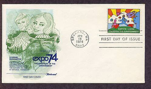 Artist Peter Max Expo 74, Cosmic Jumper, Preserve the Environment, First Issue 1974 USA