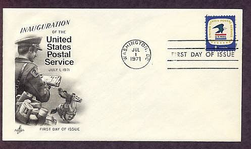 USPS Bald Eagle Emblem, U.S. Mail Letter Carrier, First Issue Post Office USA