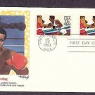 Olympics 1984, Boxing, First Issue USA