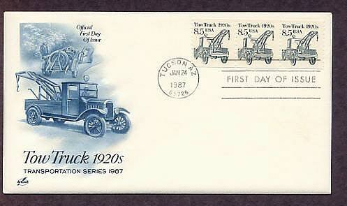 Tow Truck 1920s, First Issue USA