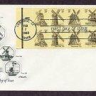 Windmills, Texas, Virginia, Rhode Island, Massachusetts, Illinois, First Issue USA