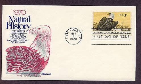100th Anniversary of the American Museum of Natural History, American Bald Eagle, First Issue USA