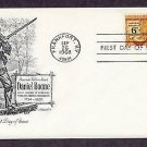 American Folklore, Honoring Daniel Boone, First Issue FDC USA