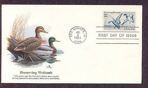 Commemorates First Federal Migratory Bird Hunting and Conservation Stamp