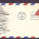 Airmail Embossed Envelope, Jet Liner, American Airlines, 1965 First Issue USA