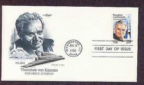 Honoring Aerospace Scientist Theodore von Kármán, First Issue USA