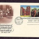 Bicentennial of the Covening of Constitutional Convention, First Issue USA