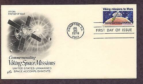 NASA, Space, Viking Mission to Mars, 1978 AC First Issue USA