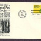 National Park Service, Yellowstone National Park, Wyoming, First Day of Issue USA