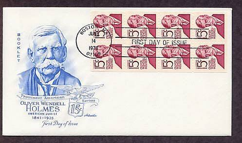 Honoring U.S. Supreme Court Justice Oliver Wendell Holmes, First Issue USA