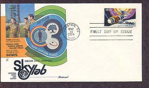 NASA Space Skylab Mission, Houston, Texas Fleetwood B First Issue USA