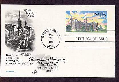 University of Notre Dame, Administration Building, Postal Card First Issue