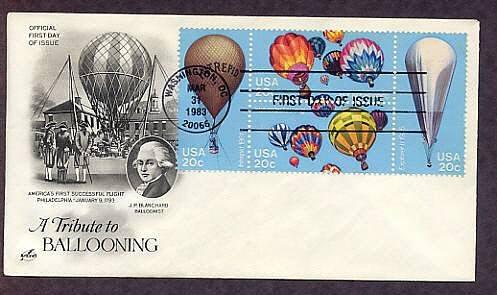 Hot Air Balloons, Ballooning, Civil War Intrepid, Explorer II, AC First Issue USA
