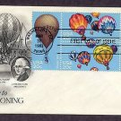Hot Air Balloons, Ballooning, Civil War Intrepid, Explorer II, AC First Issue USA