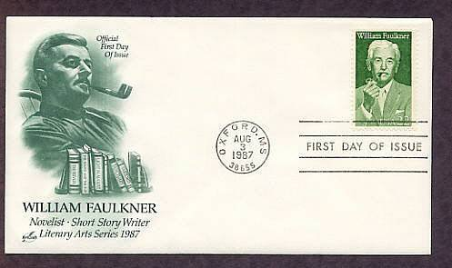 Honoring Writer William Faulkner, First Issue USA