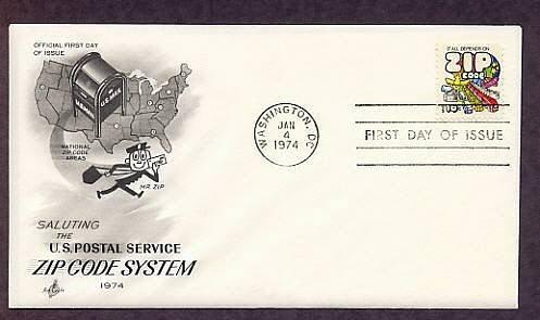 Mr. Zip Letter Carrier, U.S. Postal Service, First Issue USPS USA