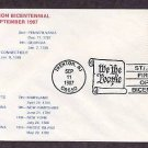 New Jersey Statehood Bicentennial, HC First Issue FDC USA