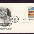 Galveston Courthouse and Federal Building, Texas Postal Card First Issue USA
