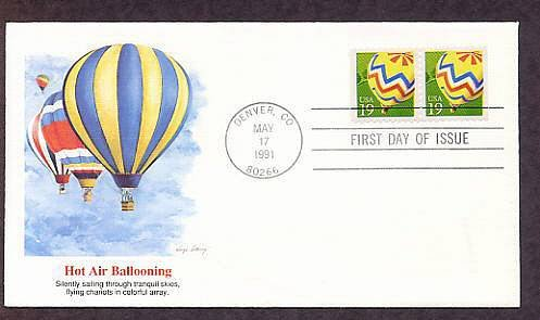 Hot Air Ballooning, First Issue USA