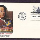 Treaty of Amity and Commerce between Sweden and United States, Benjamin Franklin, First Issue USA