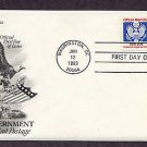 U.S. Government Official Mail, Bald Eagle, First Issue USA
