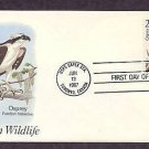 Osprey, North American Wildlife, First Issue USA