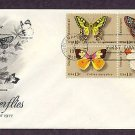 American Butterflies Swallowtail, Checkerspot, Dogface, Orange-Tip, AC First Issue USA
