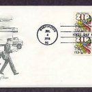 Zip Code, Letter Carrier, U.S. Postal Service, First Issue USPS USA