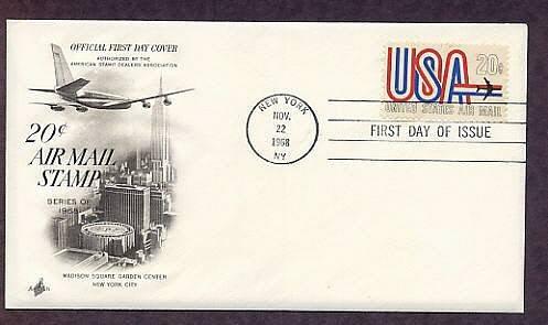 USA Jet, Masison Square Garden, New York, First Issue USA