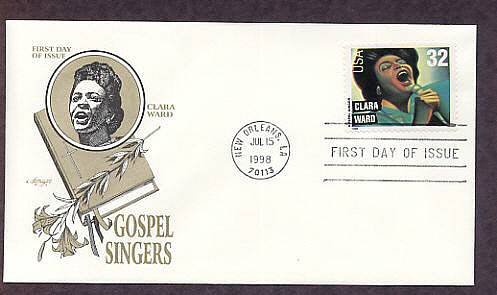 Gospel Singers, Clara Ward, First Issue USA