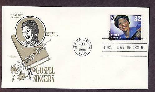Gospel Singers, Sister Rosetta, First Issue USA