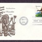 Prehistoric Animals, Mastodon, First Issue USA