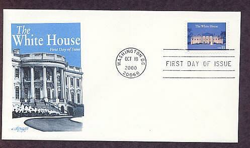 White House, First Issue USA