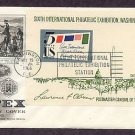 SIPEX, Sixth International Philatelic Exhibition Souvenir Sheet 1966 First Issue USA