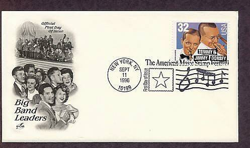 Honoring Big Band Leaders Tommy and Jimmy Dorsey, First Issue USA